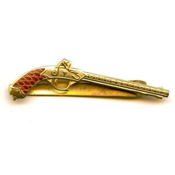 Vintage Anson Shotgun Tie Clip