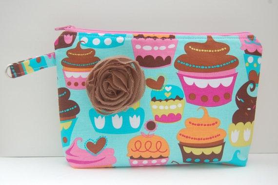 Cupcake Cosmetic Bag/Pencil Case