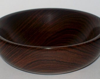 Wood Bowl- Bocote Wood (sn.019)