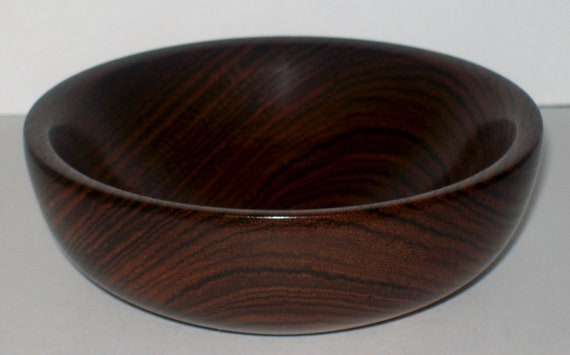 Wood Bowl- Bocote Wood (sn.019)