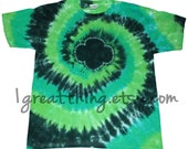 Girl Scout Trefoil Tie Dye T Shirt Youth and Adult Sizes