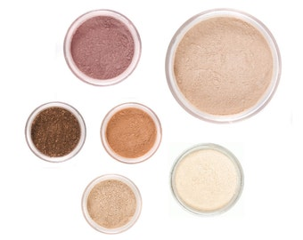 FALL GLOW Mineral Makeup Set - Full Sizes - Customize Colors