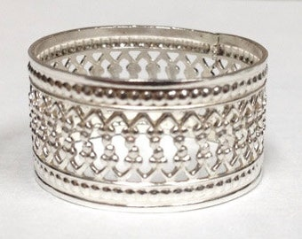 Sterling Silver Lace Ring Style 1