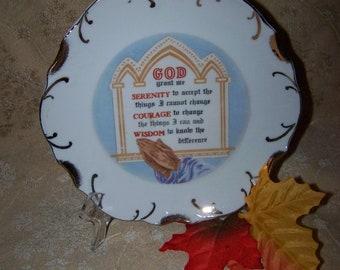 God Grant Me Plate