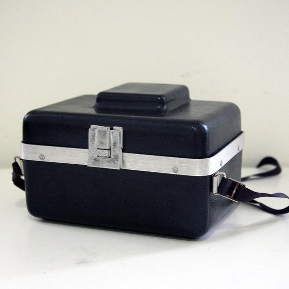 "Rare Bakelite plastic Smith- Victor PETITE size vintage camera case with Aluminum trim 5""x8""x6"""