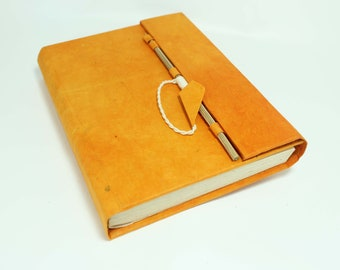 Eco Friendly Handmade Notebook Lokta