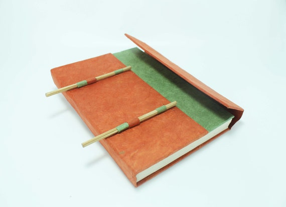 Handmade Paper Travel Journal Lokta Paper Beautiful Journal