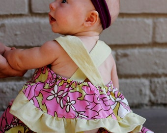 Olivia Ruffle Tank & Ruffle Panties Pattern