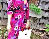 SALE 70s Jonathan Martin dress