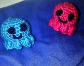3 adorable mini octopus