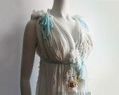 Regency Wedding Gown. Fairy Wedding Dress. Renaissance Wedding Dress. Beach Wedding Dress. Jane Austen Dress. Custom Made in YOUR Size.