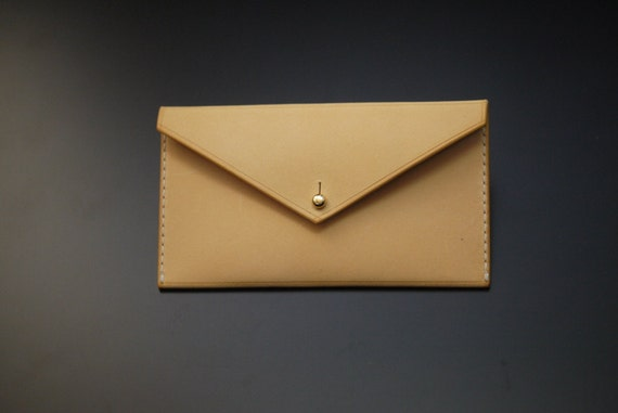 Introducing leather business card case from Atelier Du Cuir 100% handmade (hand cut, hand stitched and hand finished)