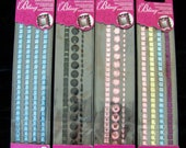 Sparkle bling, rhinestone sticker borders- awesome for scrapbooking, crafts, home decor, or whatever- PICK ONE