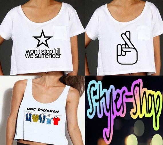 One Direction Inspired Tops PREORDER