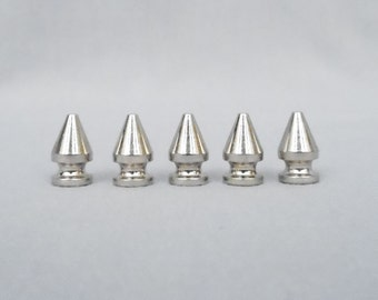 10 Silver Half Inch (12mm) Tree Spikes