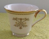 Vintage Lenox Castle Garden Footed Tea/Coffee Cup