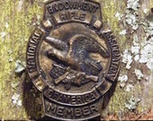 Vintage NRA Endowment Member Metal Pin - Brooch - Badge - Collectable
