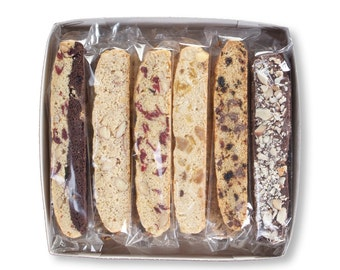 21 Flavors Biscotti Gift Box ( Special Price! )