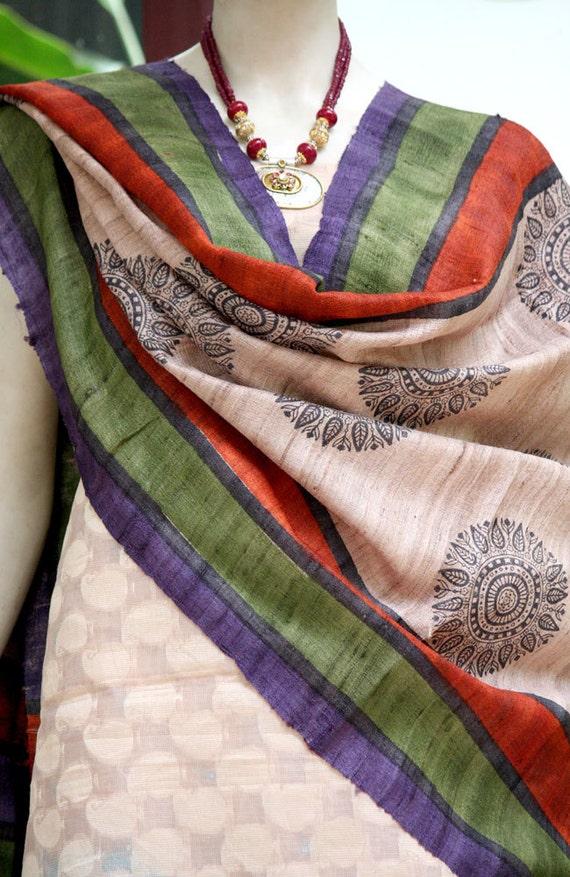 Gorgeous Geecha silk  Dupatta