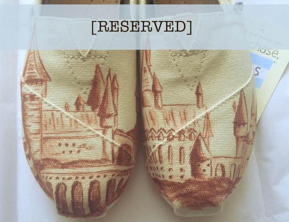 RESERVED - Hogwarts TOMS