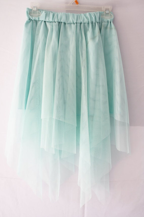 Pretty Icy Blue Tulle Skirt