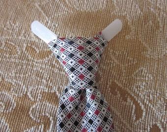 Vintage 1950's Skinny Silk Necktie