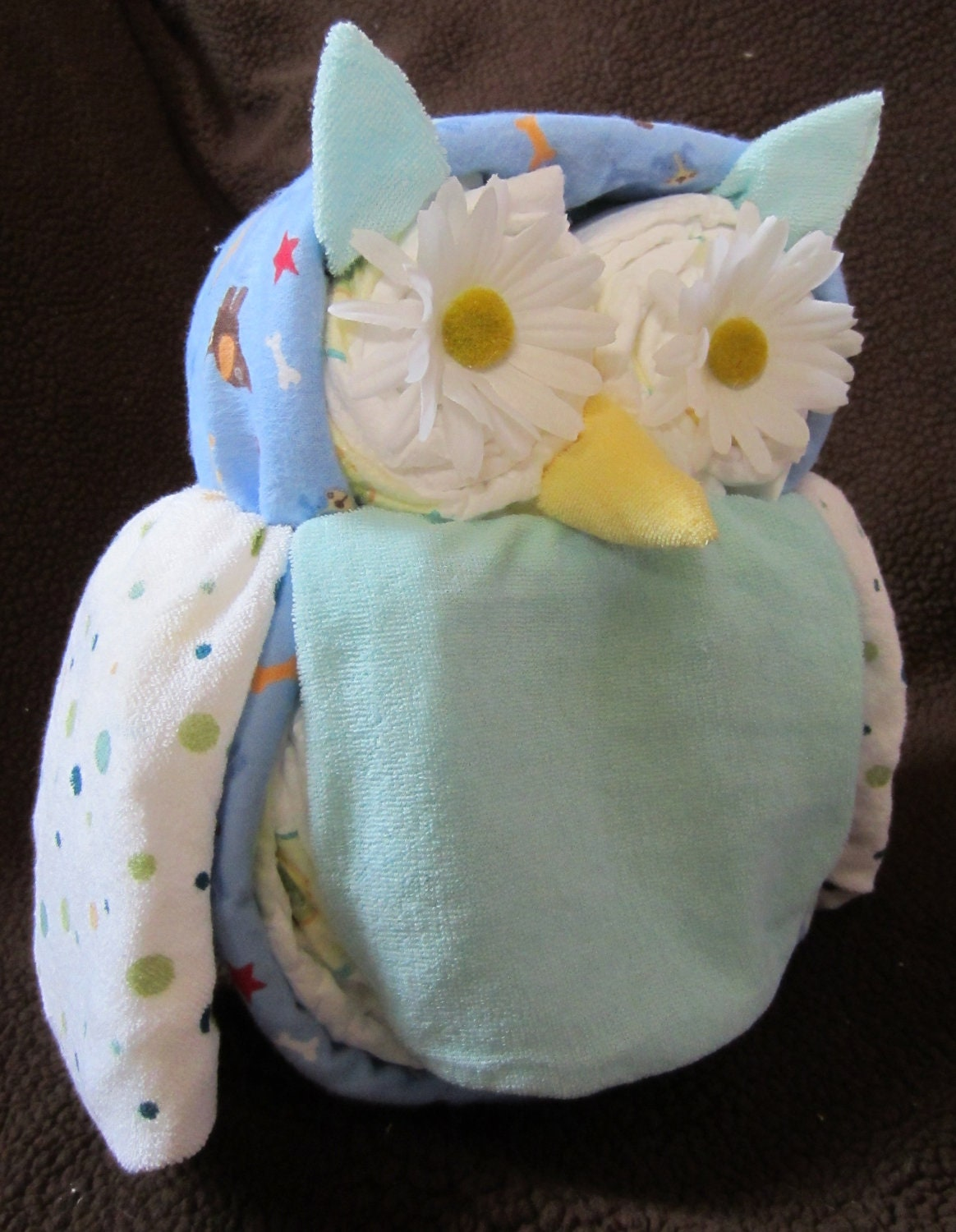 Items Similar To Diaper Owl Boy Girl Diaper Animals About