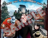 HOTEL TRANSYLVANIA HALLOWEEN Birthday Invitation personalized customized other party supplies avaliable