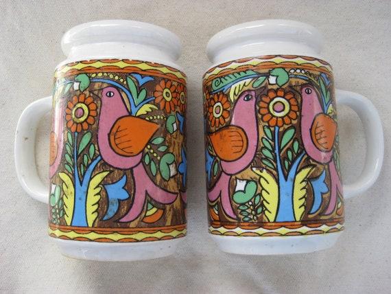 1960 Mod Salt n' Pepper Shakers, Groovy