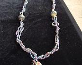 Custom designed beaded necklace