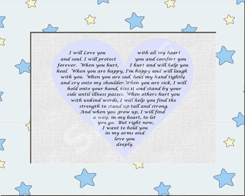 baby boy poems - photo #11