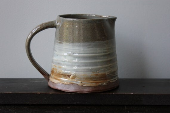 Reserved for Anna: Small Earthenware Pitcher