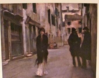 Art Class Print of John Singer Sargent - Street in Venice