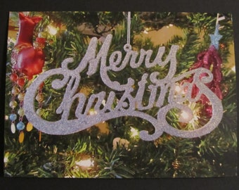 Ornament Christmas Holiday Greeting Card