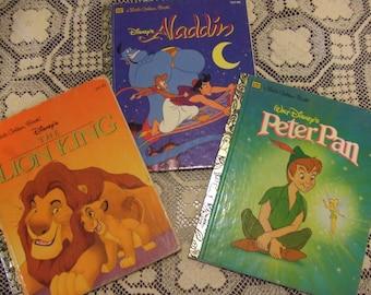 set of 3 Golden Books
