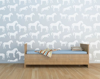 Horse Wall Stencil