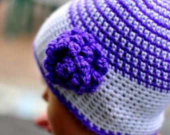 Candy Stripes Crochet Hat