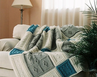 COUNTRY pattern for crocheted blanket