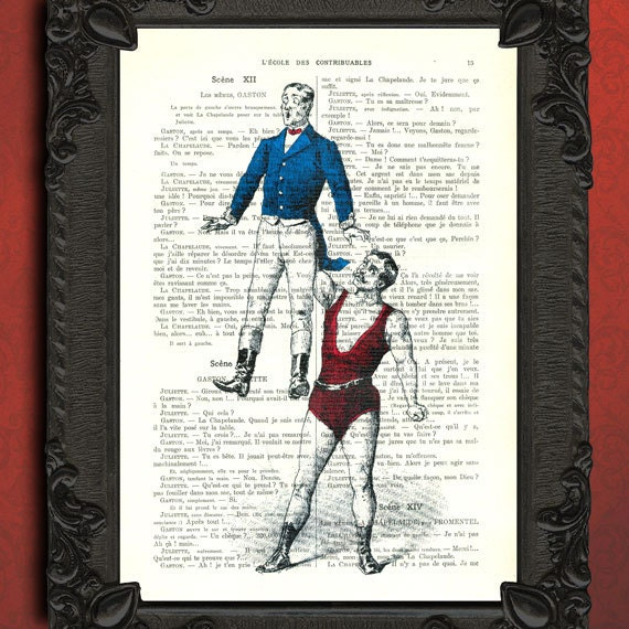 Poster Weights Etsy: Strongman Strong Man Print Weight Lifting Mixed Media Blue