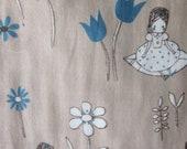 Kokka Trefle Thumbelina Fabric Japanese Import
