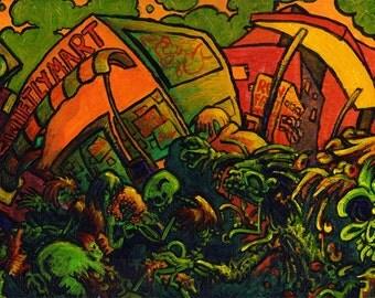 Zombies, Acrylic