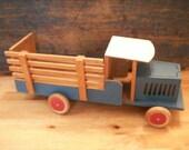 Vintage Swedish Toy Truck