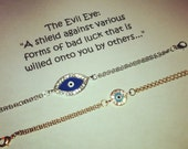 "Evil Eye ""celebrity"" inspired bracelets"