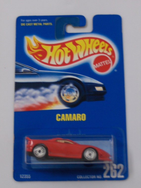 Hot Wheels Camaro Never removed from packaging