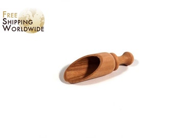Wooden Measuring Scoop / Shovel for Coffee from Cherry wood - 61