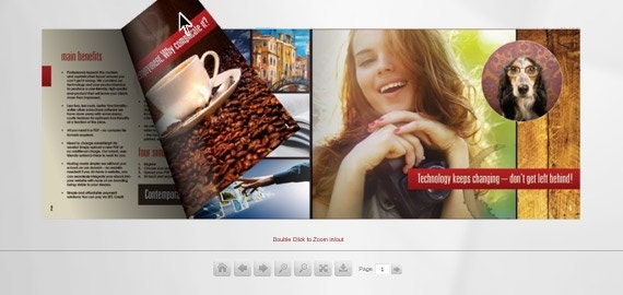 Convert your catalogue into a virtual flipbook - Free