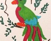 Tropical Bird - Art Card - Original Drawing