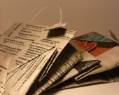 Recycled Newspaper Gift/Goodie Bags - Set Of 2