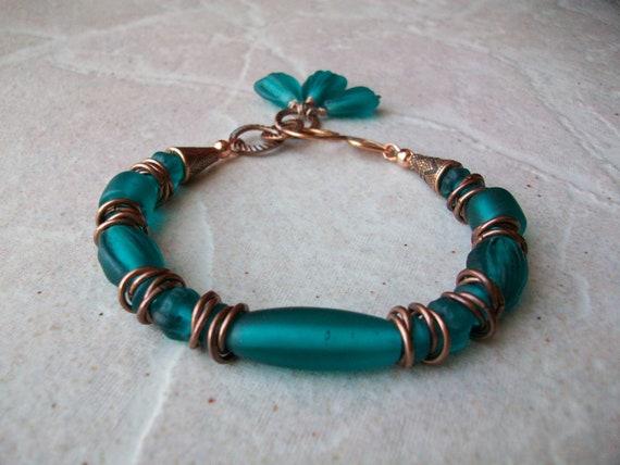 Teal Green Bracelet