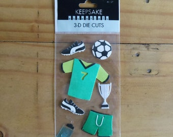 3 D Die Cuts for Soccer.